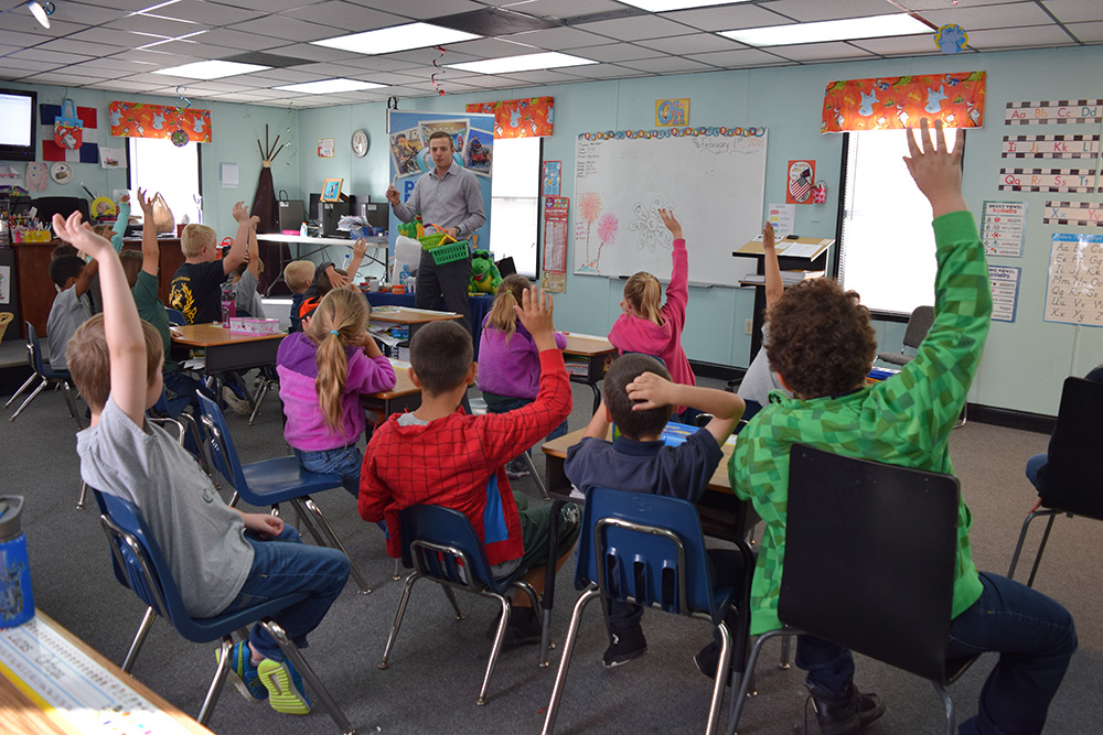 Class at Cape Coral Christian School